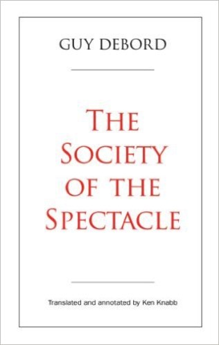 Society of the spectacle book cover